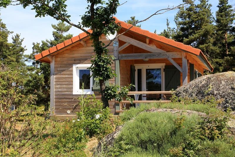 Location - Chalet Bois Premium Plus - Camping Les Sous Bois du Lac