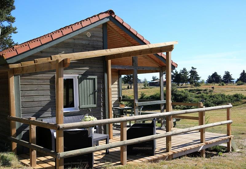 Location - Chalet Bois Premium - Camping Les Sous Bois du Lac