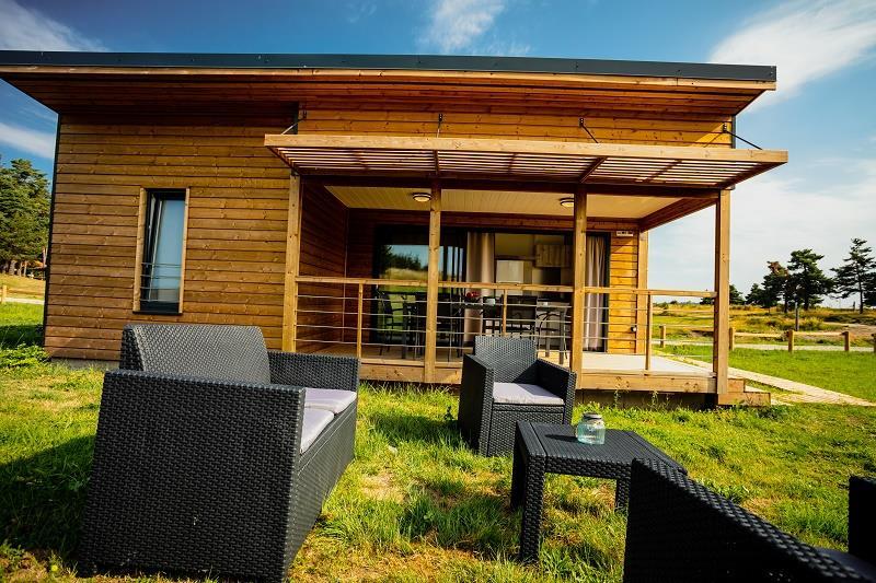 Location - Cottage Premium - Camping Les Sous Bois du Lac