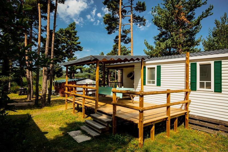 Location - Mobil-Home Ophéa Classique 3 Chambres - Camping Les Sous Bois du Lac
