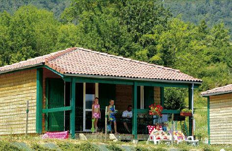 Accommodation - Chalet Marina - Camping des Gorges de l'Oignin