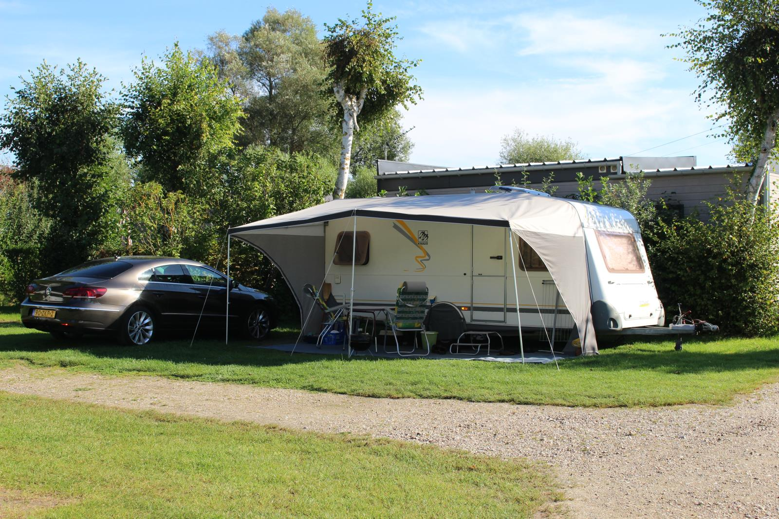 Comfort Package (1 Tent, Caravan Or Motor Home / 1 Car / Electricity 6A)