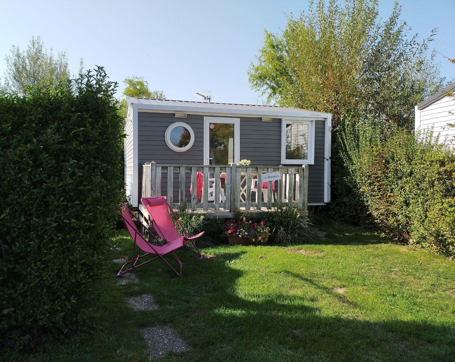 Accommodation - Mobile Home 17,8 M² Confort + (1 Bedroom) - Flower Camping Caravaning Les Aubépines