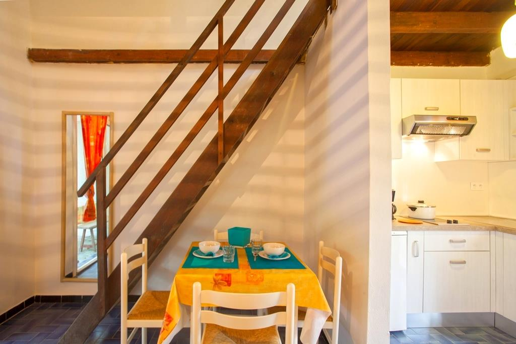 Location - Villa Type B1 - 2 Adultes 2 Enfants (Rez-De-Chaussée, Mezzanine) - Domaine naturiste de Bagheera