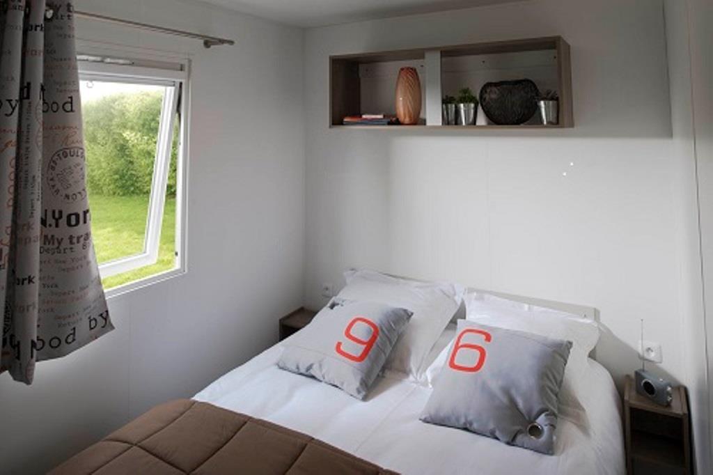 Location - Mobil Home 3 Chambres - Domaine naturiste de Bagheera