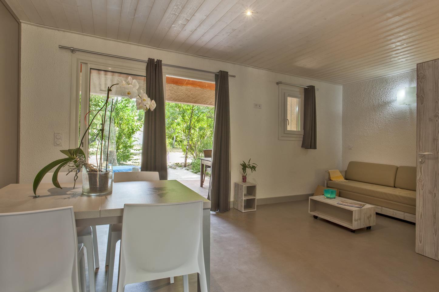 Location - Villa Type Cng Rénové (1 Chambre) - Domaine naturiste de Bagheera