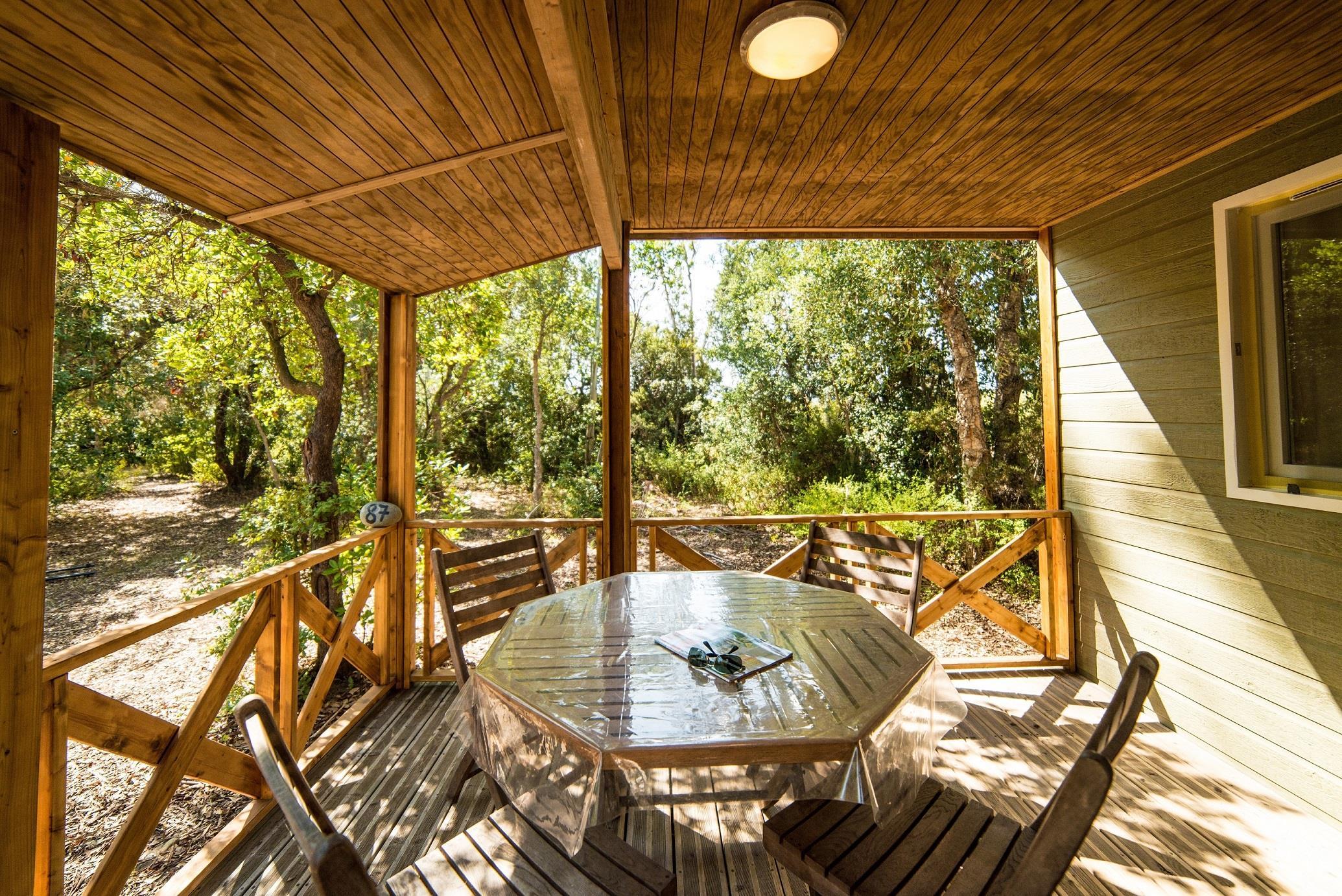Location - Chalet Confort - Domaine naturiste de Bagheera