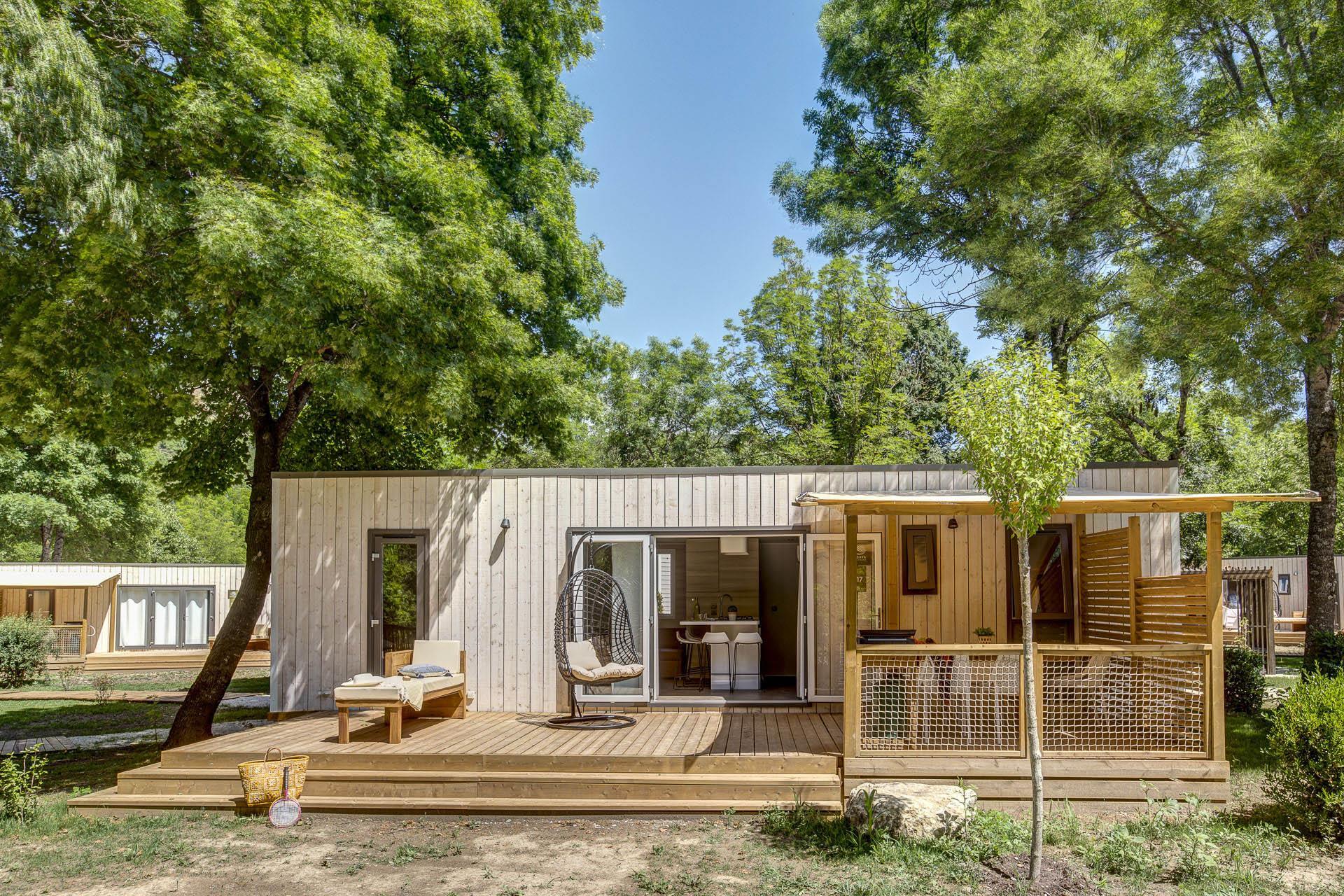 Location - Cottage Premium - 3 Chambres - 2 Salles De Bains - Climatisation - Camping Sandaya Domaine du Verdon