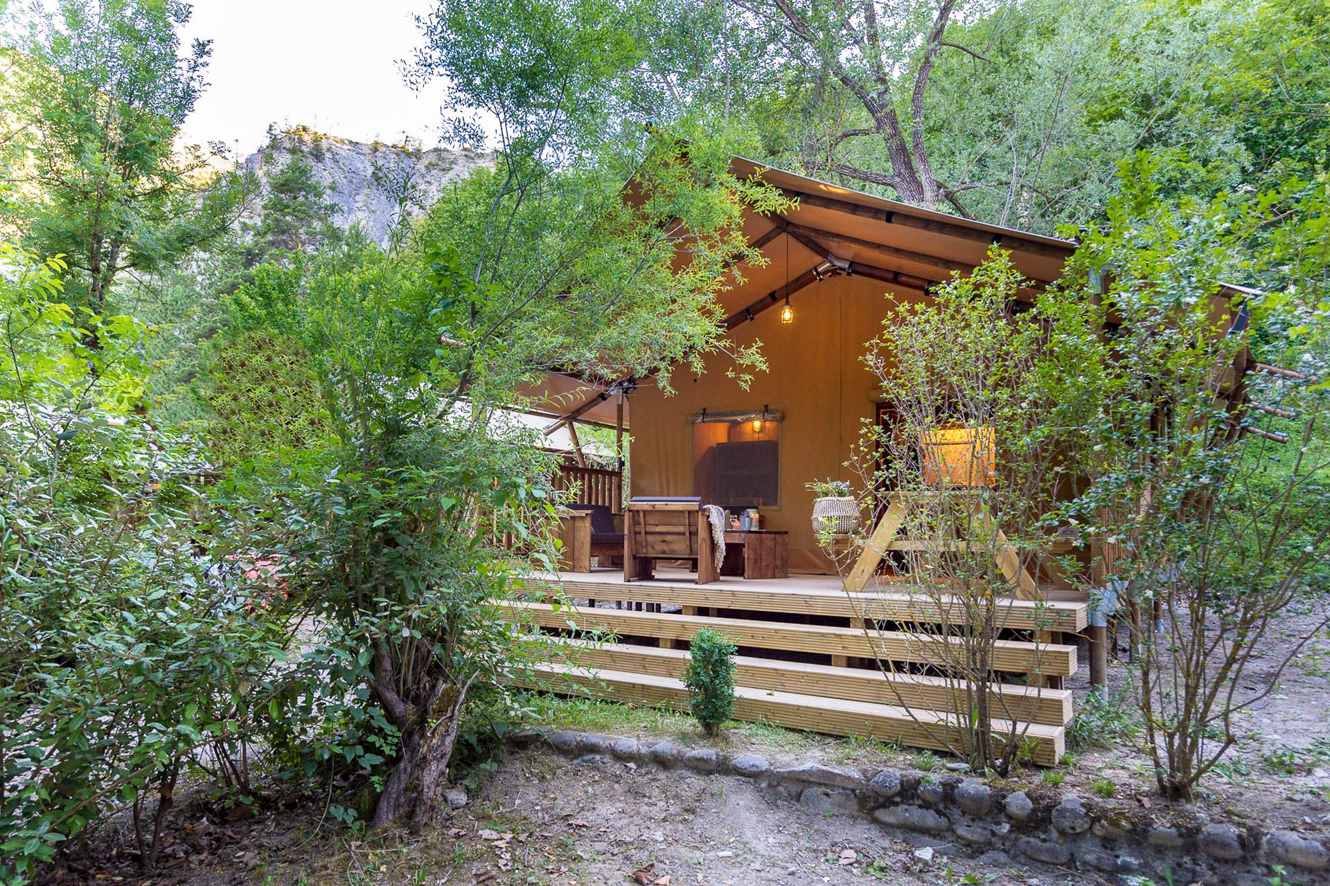 Location - Lodge 2 Chambres **** - Camping Sandaya Domaine du Verdon
