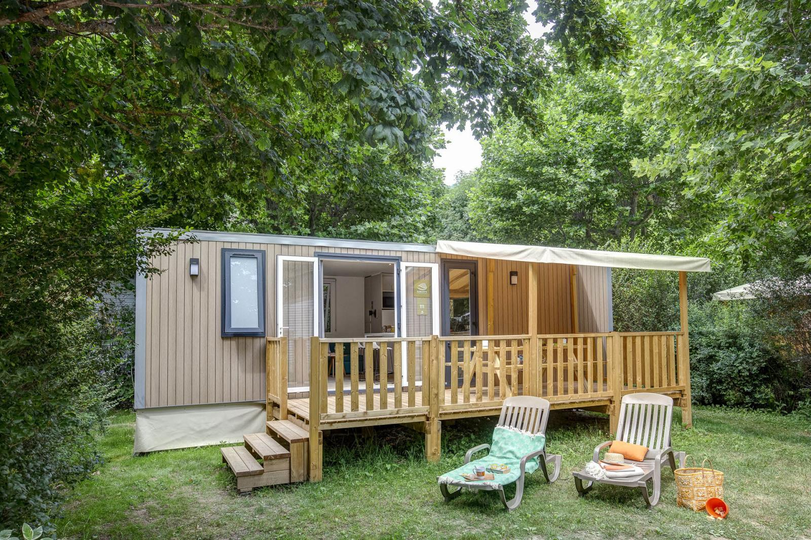 Location - Cottage 3 Chambres - Climatisation + Tv *** - Camping Sandaya Domaine du Verdon