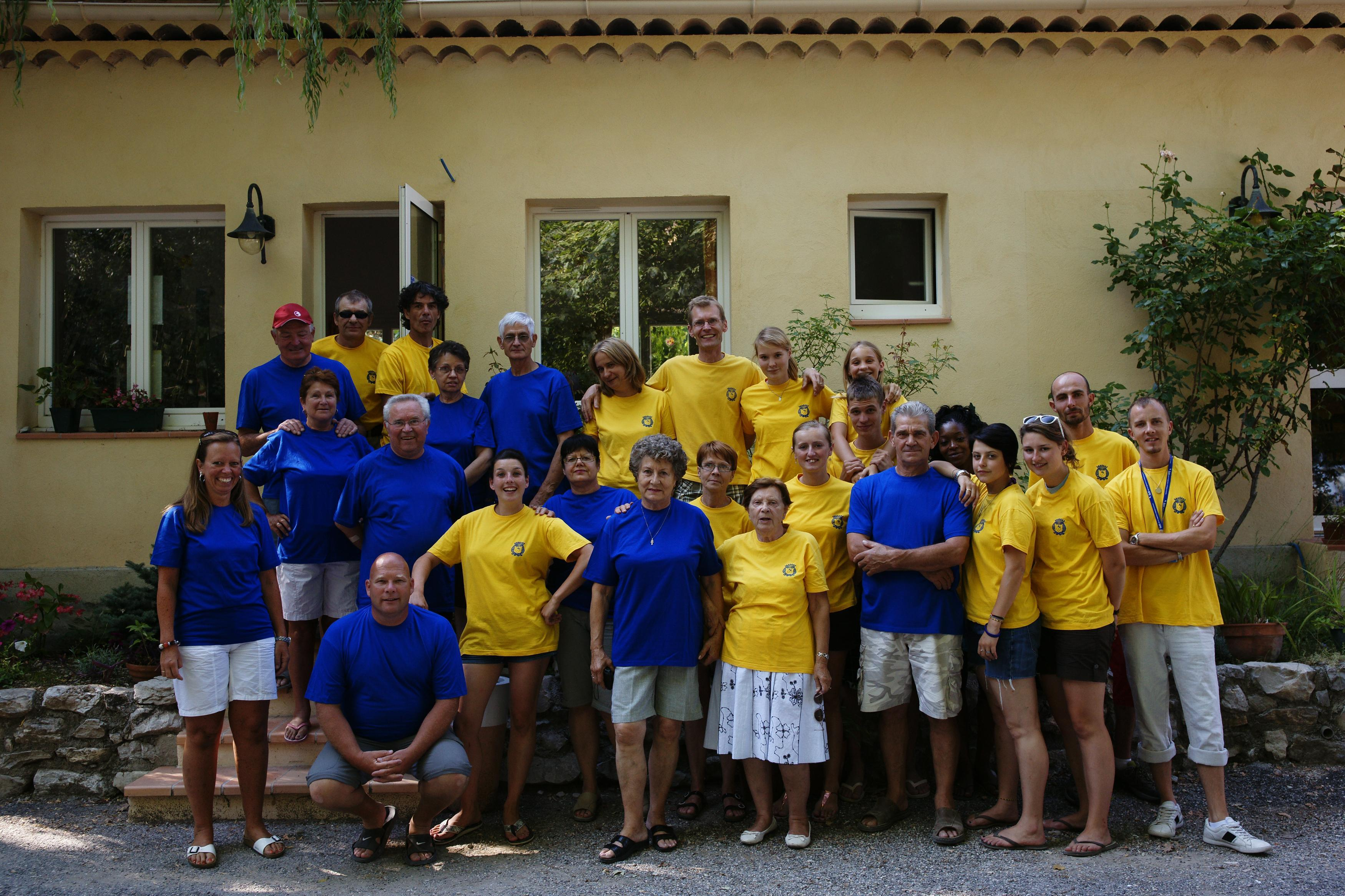 Reception team Domaine Chasteuil-Provence - Castellane