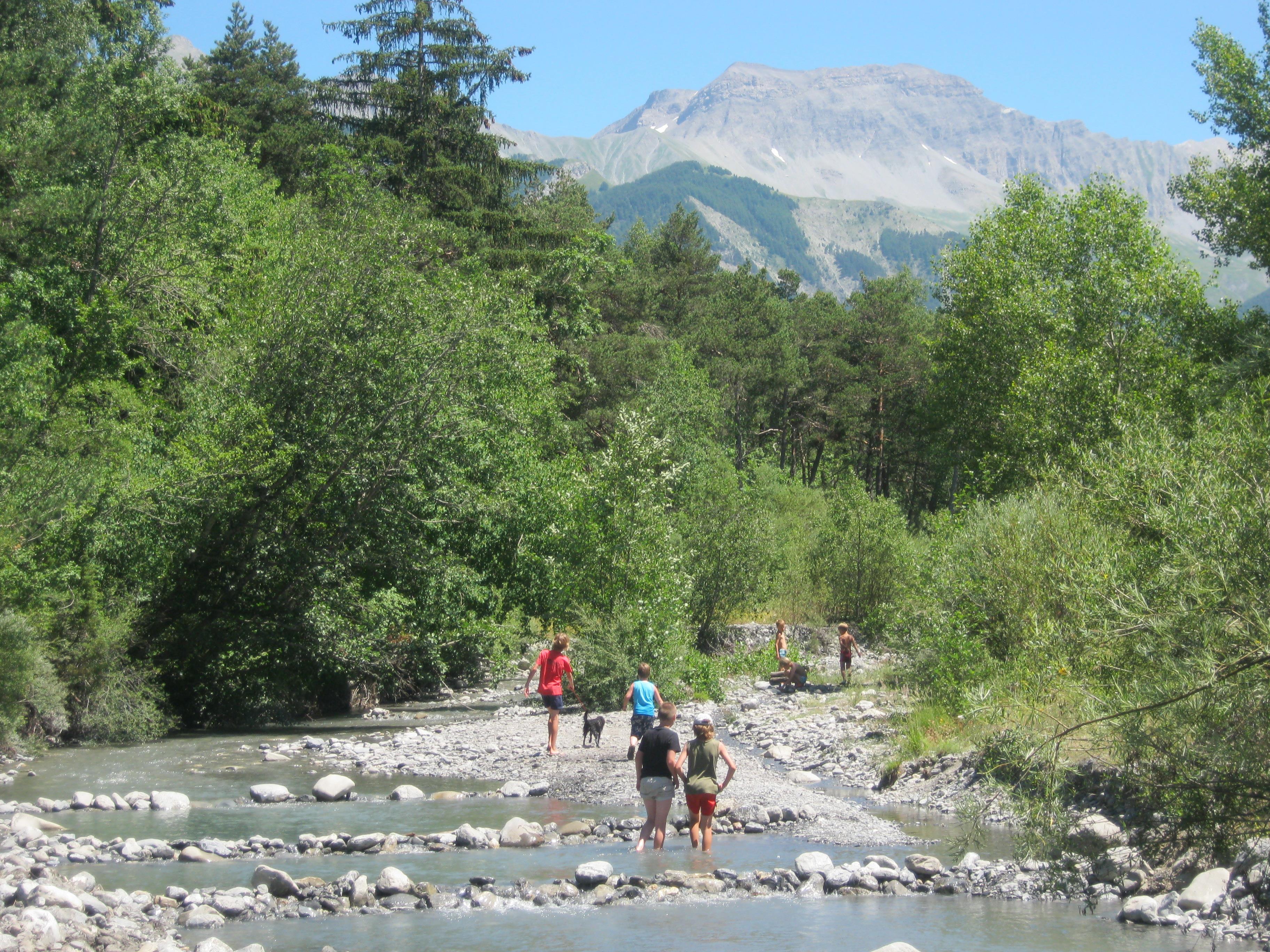 Camping les Prairies, Seyne, Alpes-de-Haute-Provence