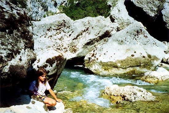 Camping les Lavandes, Castellane, Alpes-de-Haute-Provence