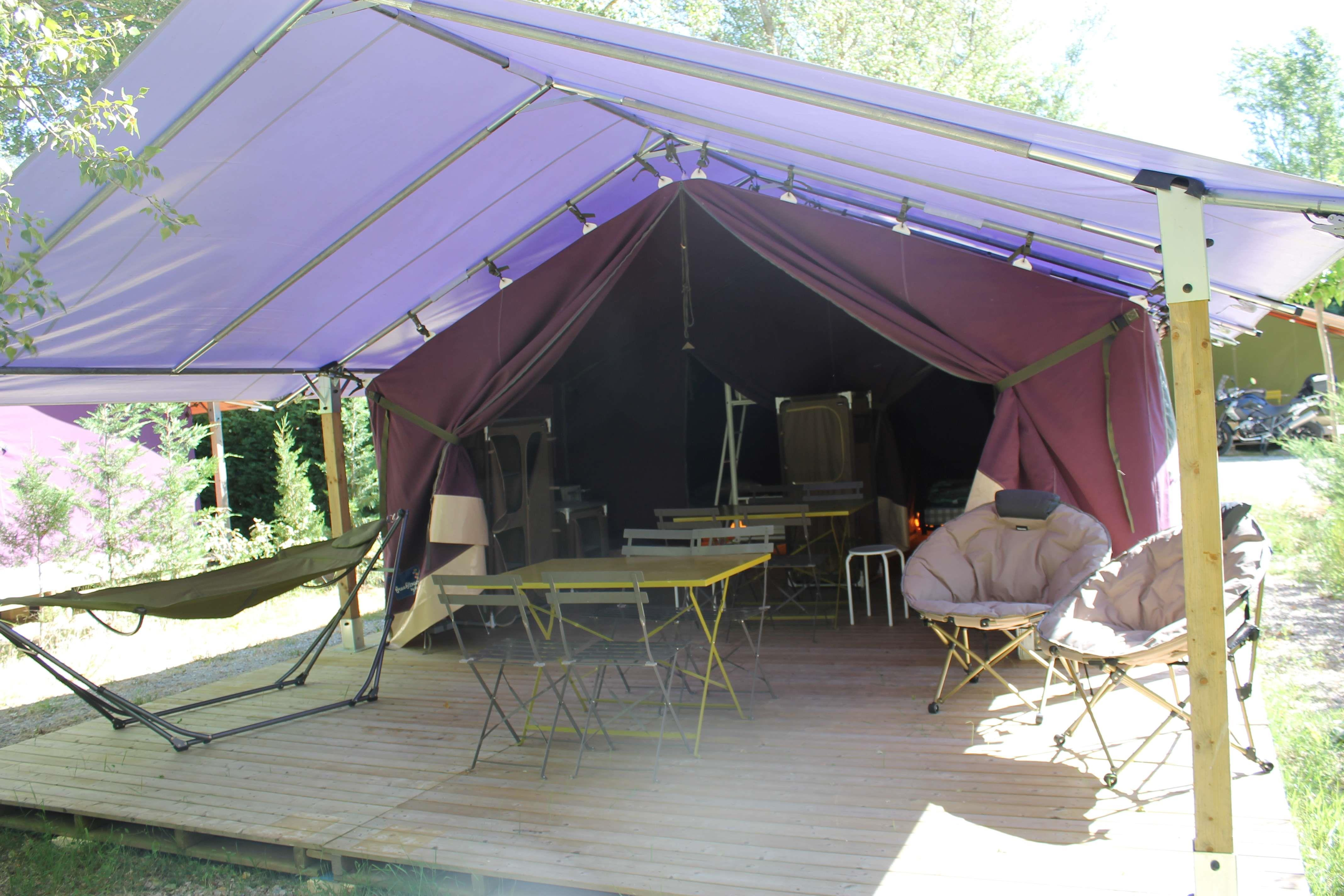 Location - Freeflower Confort + 37M² (2 Chambres) Terrasse Couverte 13M² - Flower Camping La Riviere