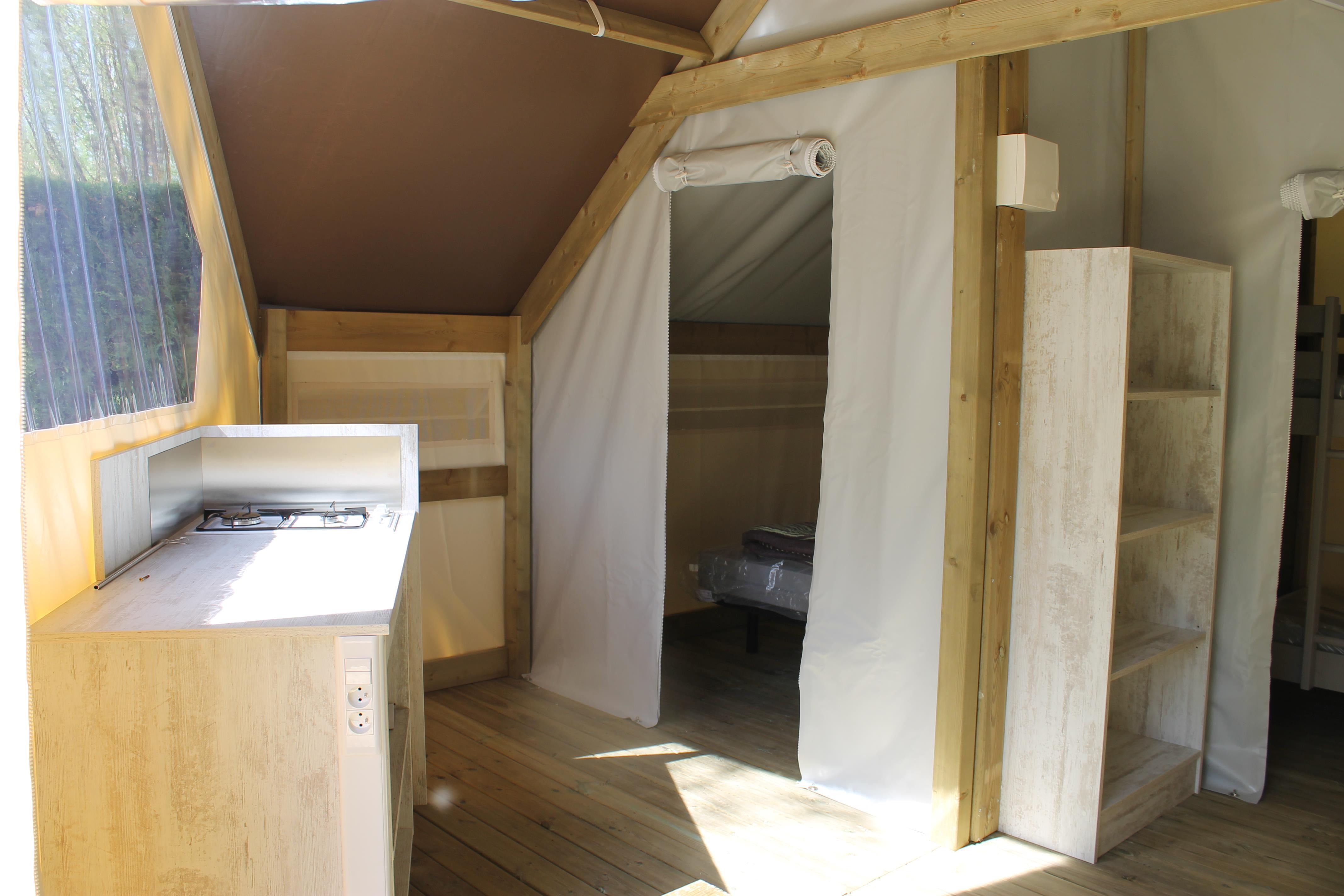 Location - Ecolodge Toilé Confort + 21M² - 2 Chambres - Flower Camping La Riviere