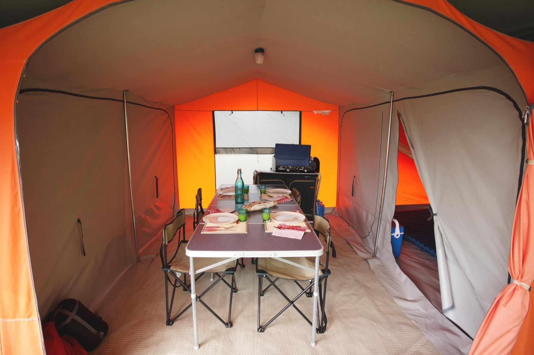 Emplacement - Forfait Ready To Camp - Flower Camping La Riviere