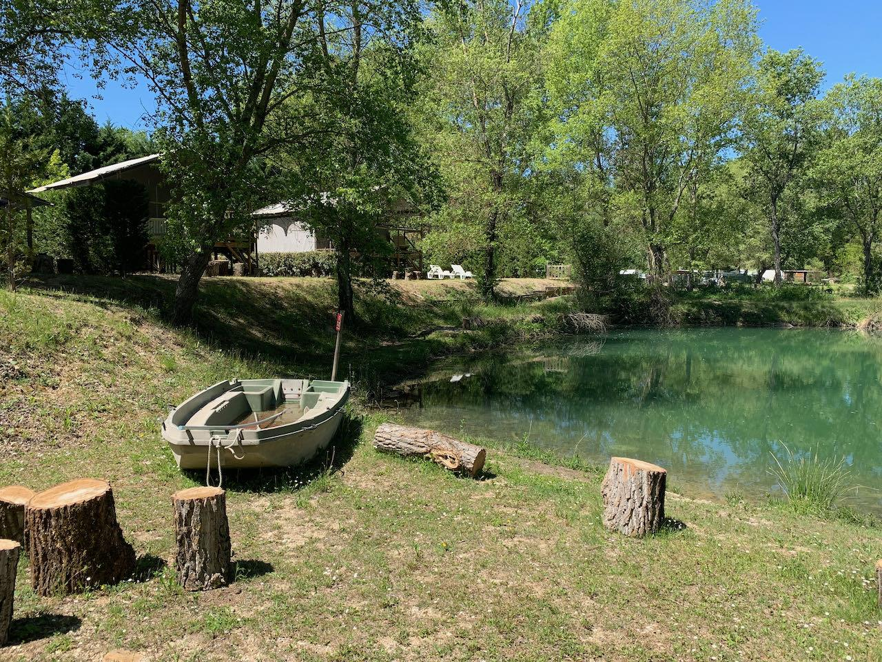 Camping la Rivière, Saint-Maime, Alpes-de-Haute-Provence