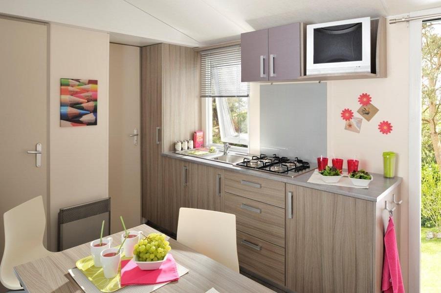 Location - Confort Grenat - 24M² - 2 Chambres - Camping Le Sainte Marie