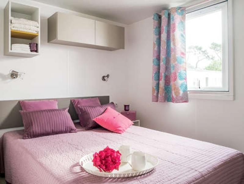 Location - Grand Confort Rubis - 28M² - 2 Chambres - Camping Le Sainte Marie