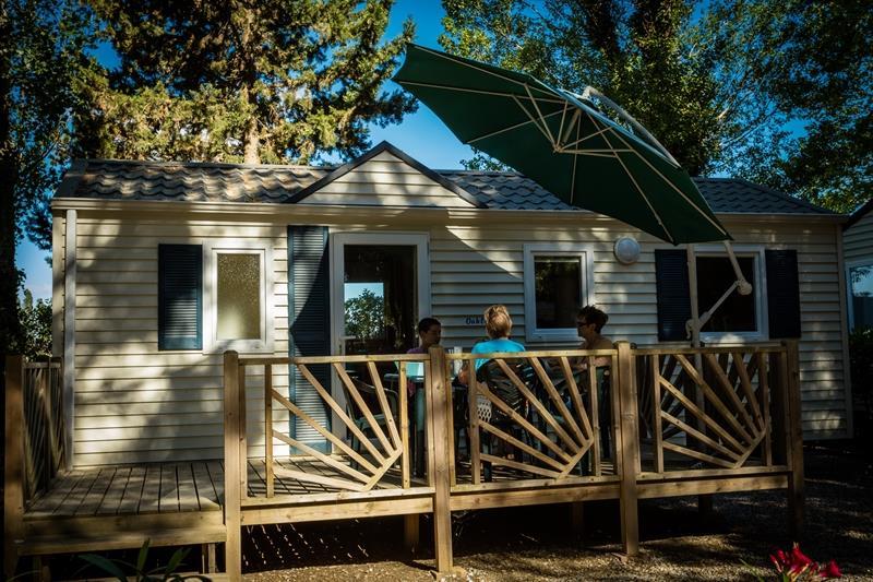 Location - Luxe Diamant - 28M² - 2 Chambres - Tv - Climatisation Et Moustiquaires - Camping Le Sainte Marie