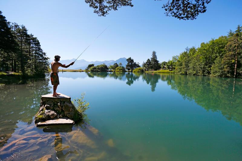 Camping le Clos du Lac, Saint-Apollinaire, Hautes-Alpes