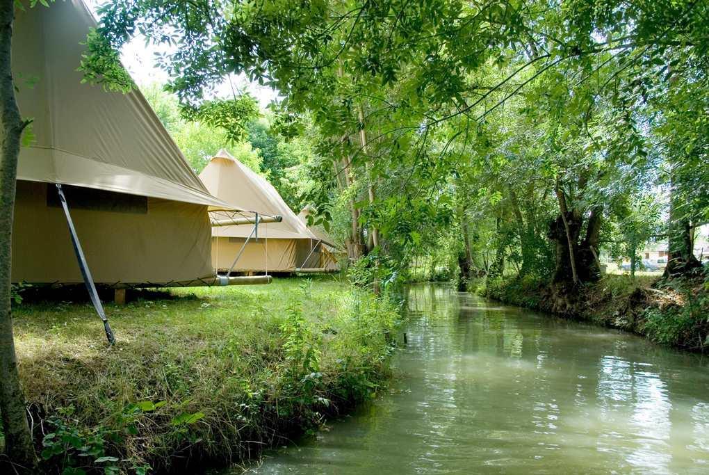 Camping le Lidon, Saint-Hilaire-la-Palud, Deux-Sèvres