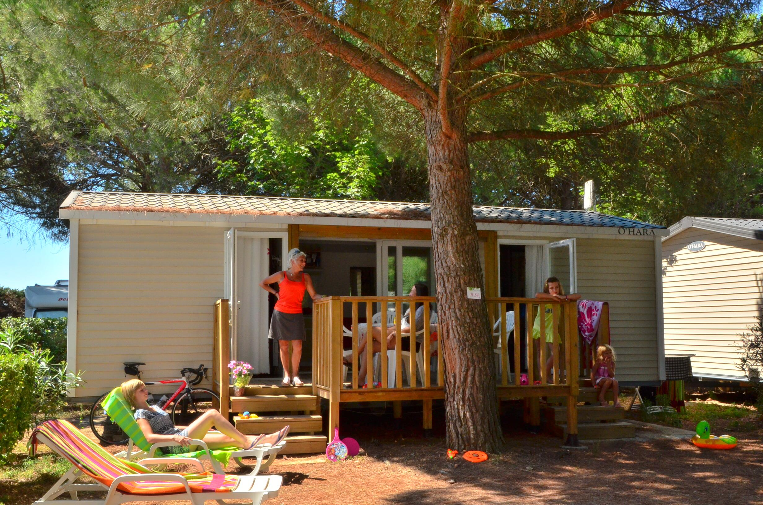Location - Le Patio Climatise 2 Chambres 2 Salles De Bain - Camping Le Bon Port