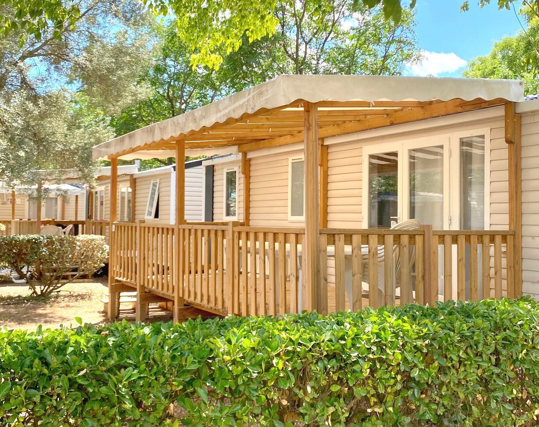 Location - Le Riviera Climatise 2 Chambres - Camping Le Bon Port