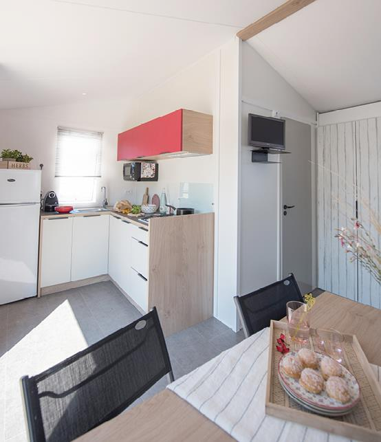 Location - Le Grand Charme Climatise 3 Chambres - Camping Le Bon Port