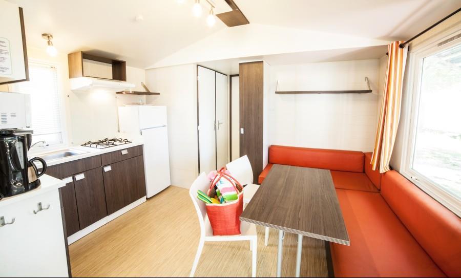 Location - Le Grand Large Non Climatise 2 Chambres 2 Adultes - 3 Enfants - Camping Le Bon Port