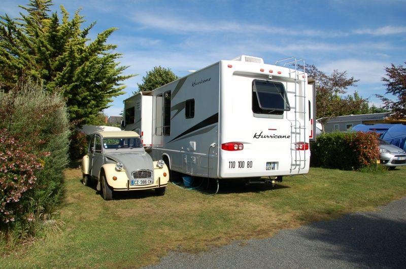 Camping les Hauts de Port Blanc , Penvenan, Côtes-d'Armor