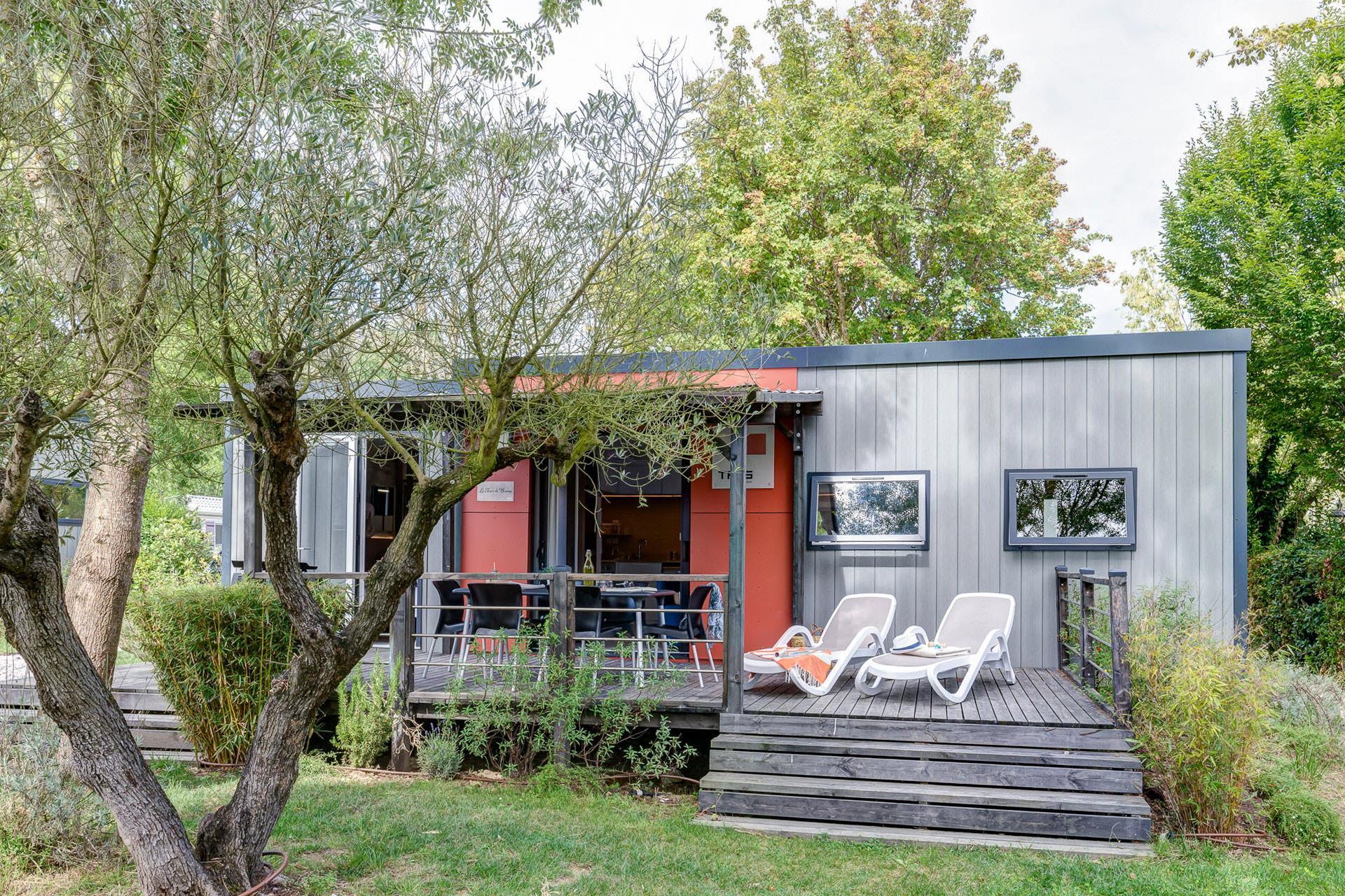 Location - Cottage Château Chic 3 Chambres Premium - Camping Sandaya Séquoia Parc