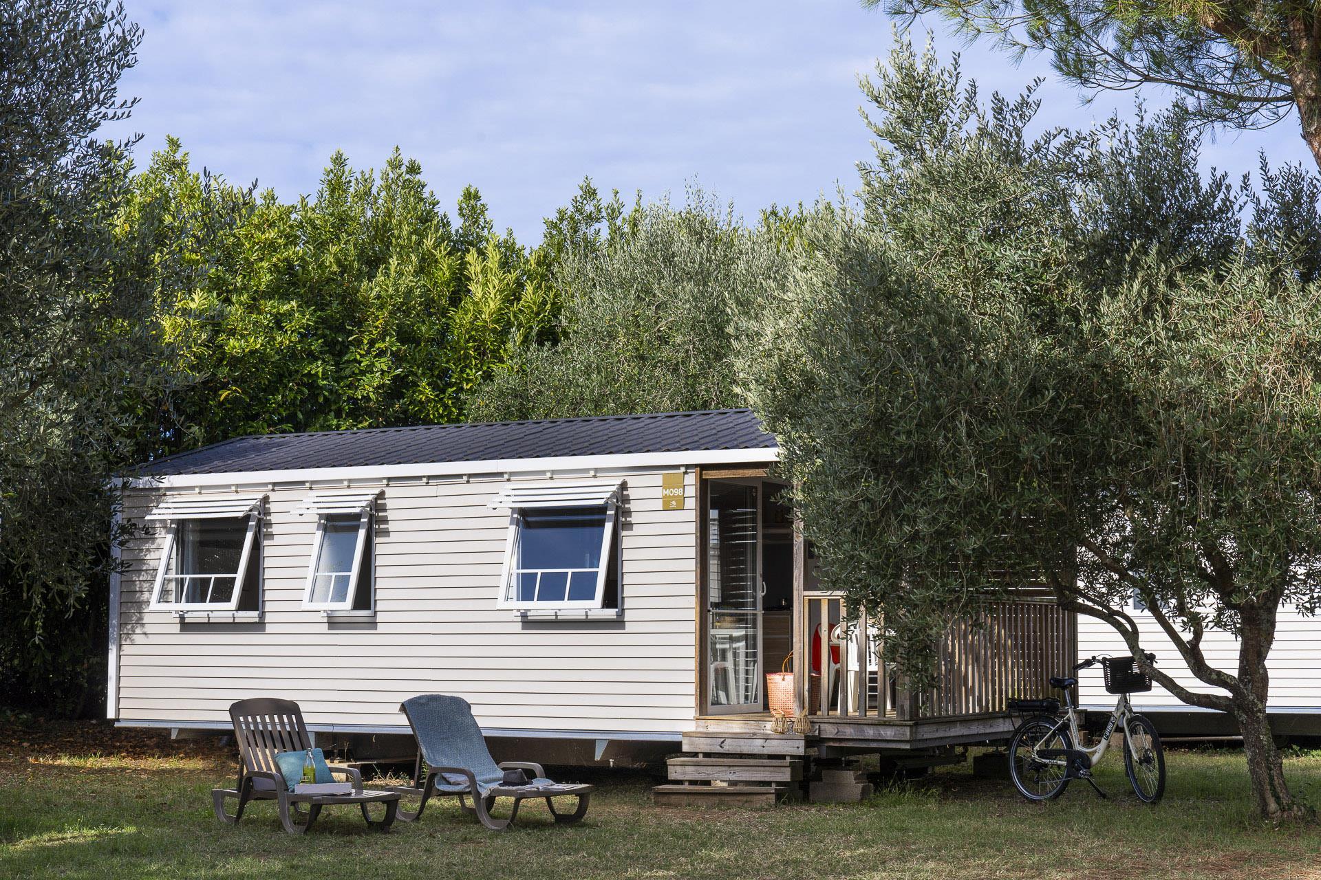 Location - Cottage 2 Chambres ** - Camping Sandaya Séquoia Parc