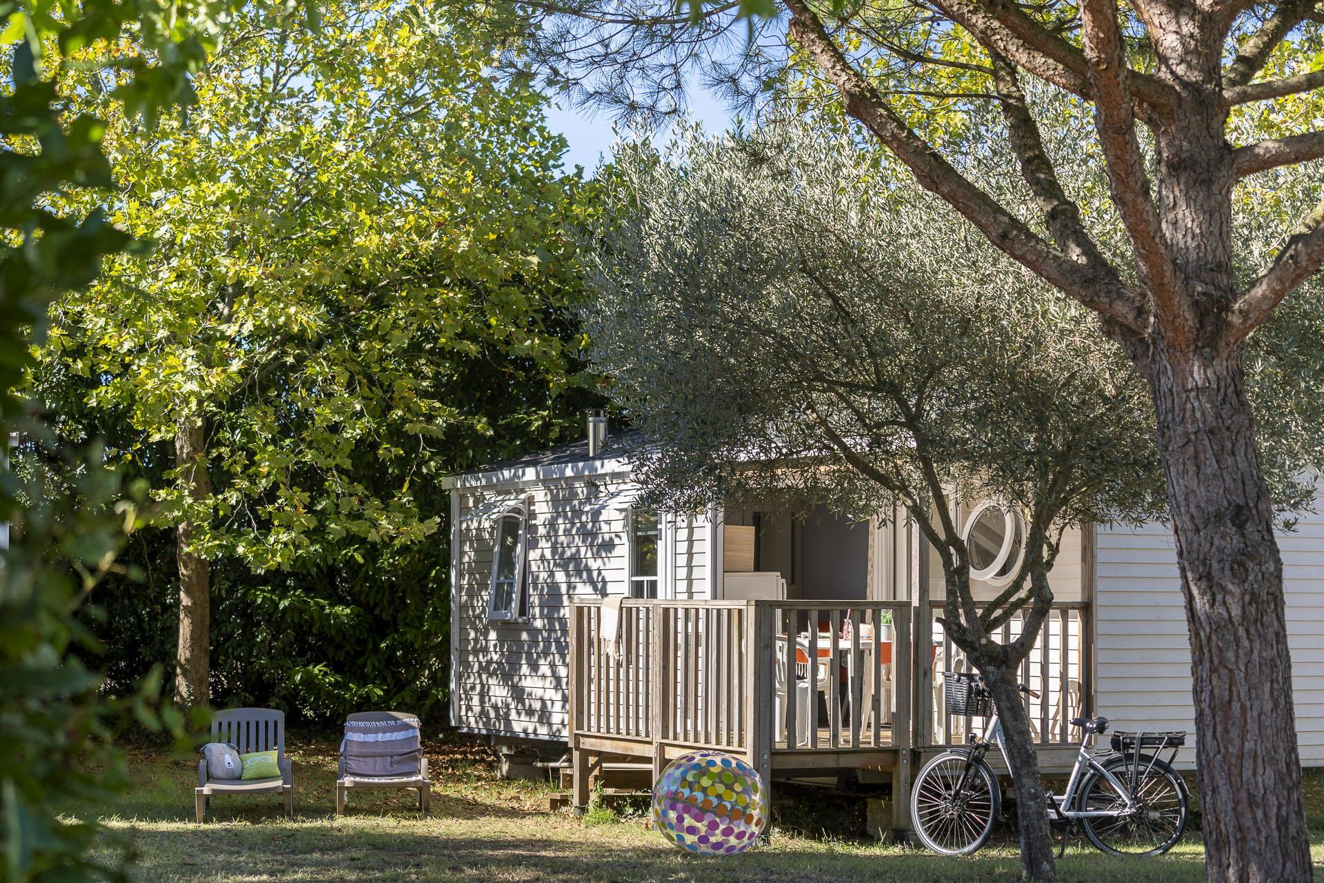 Location - Cottage 2 Chambres *** - Camping Sandaya Séquoia Parc