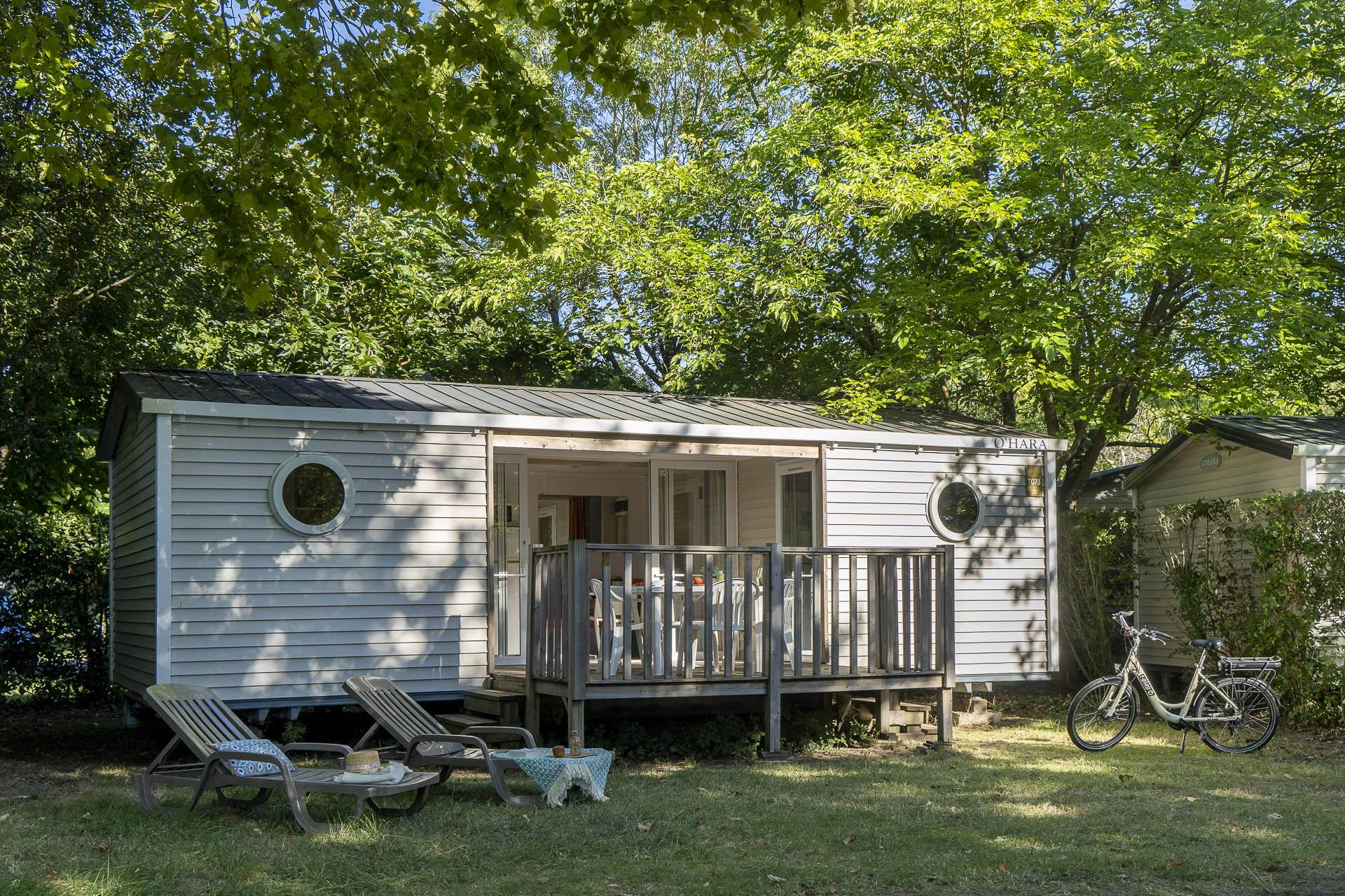 Location - Cottage 2 Chambres - 2 Salles De Bain *** - Camping Sandaya Séquoia Parc