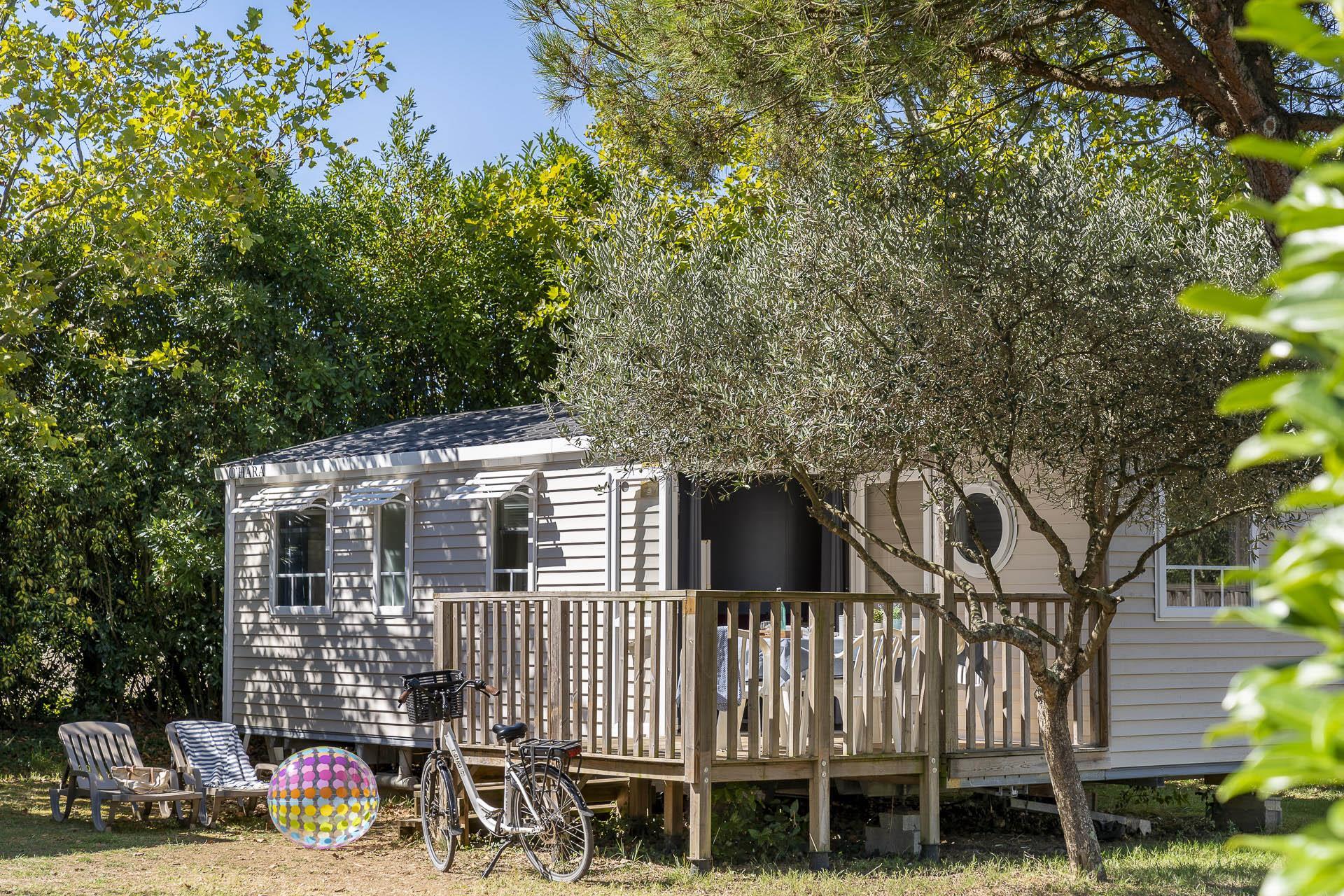 Location - Cottage 3 Chambres *** - Camping Sandaya Séquoia Parc