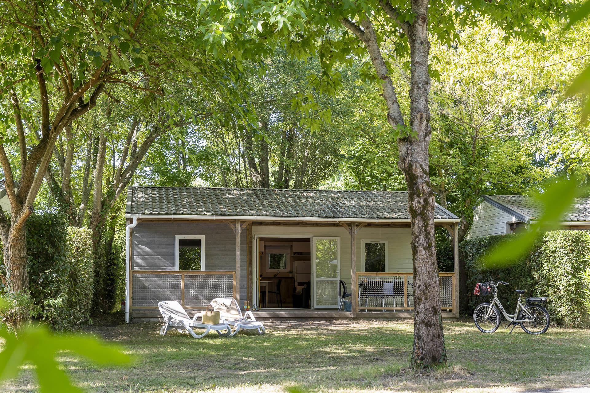 Location - Chalet Canopée 3 Chambres *** - Camping Sandaya Séquoia Parc
