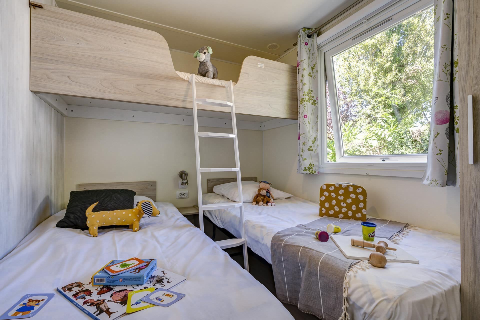 Location - Cottage 2 Chambres **** - Camping Sandaya Séquoia Parc