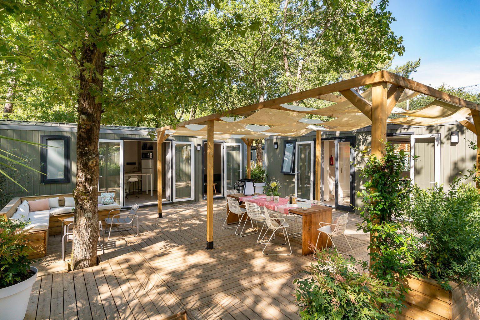 Location - Cottage Friends 5 Chambres **** - Camping Sandaya Séquoia Parc