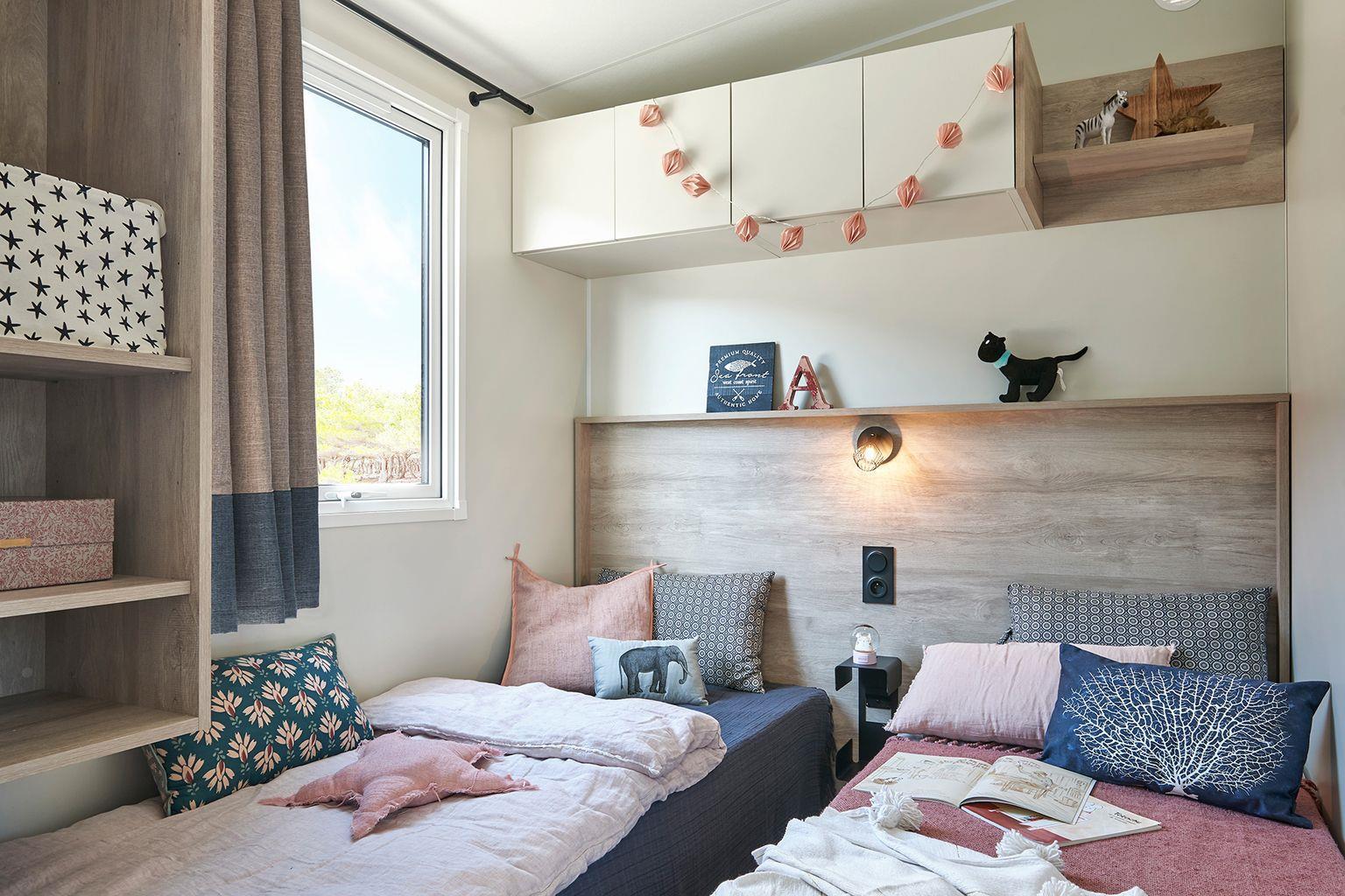 Location - Cottage Cocoon 3 Chambres Premium - Camping Sandaya Séquoia Parc