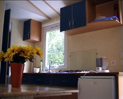 Mobil-home les Lavandes 24 m² - 2 chambres - terrasse 8 m²
