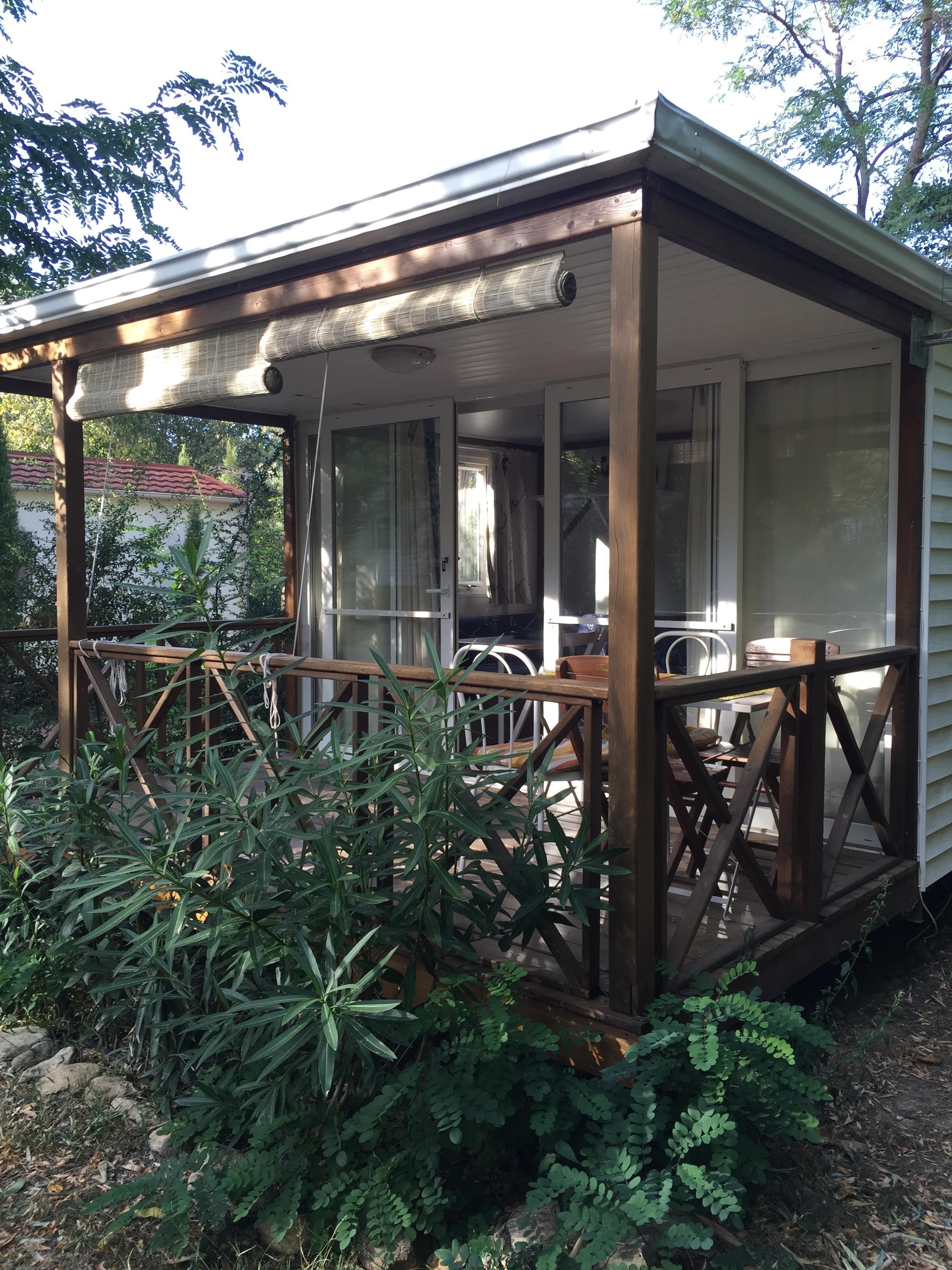 Mobil-home les Acacias 28 m² - 2 chambres - terrasse 8 m²