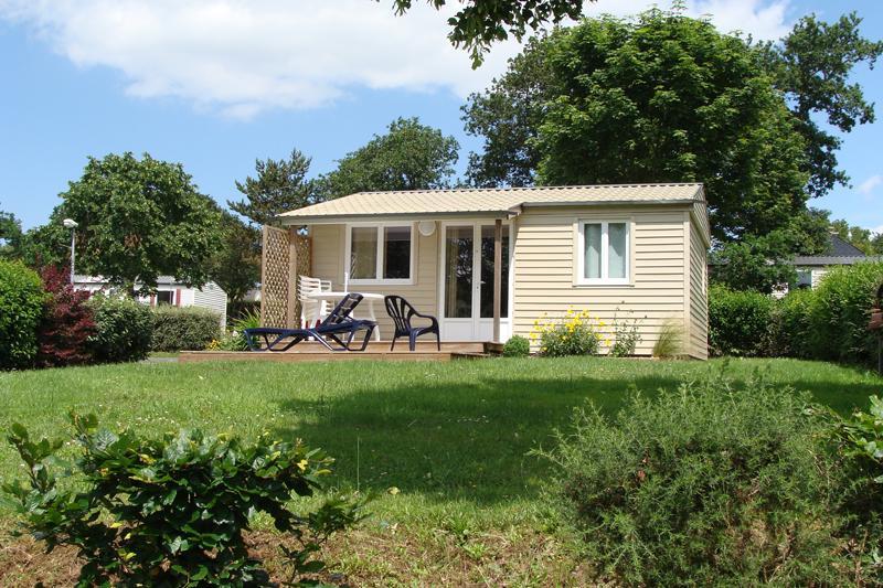 Location - Chalet Fidji - 3 Chambres - Camping Au Bocage du Lac