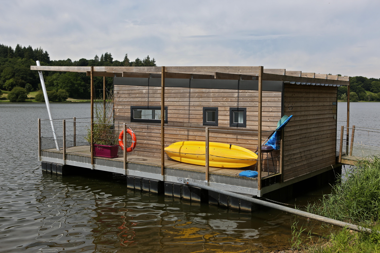 Location - Chalet Ecolac Sur L'eau - 2 Chambres - Camping Au Bocage du Lac