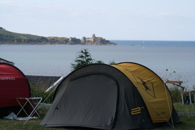 Camping la Crique, Saint-Cast-le-Guildo, Côtes-d'Armor