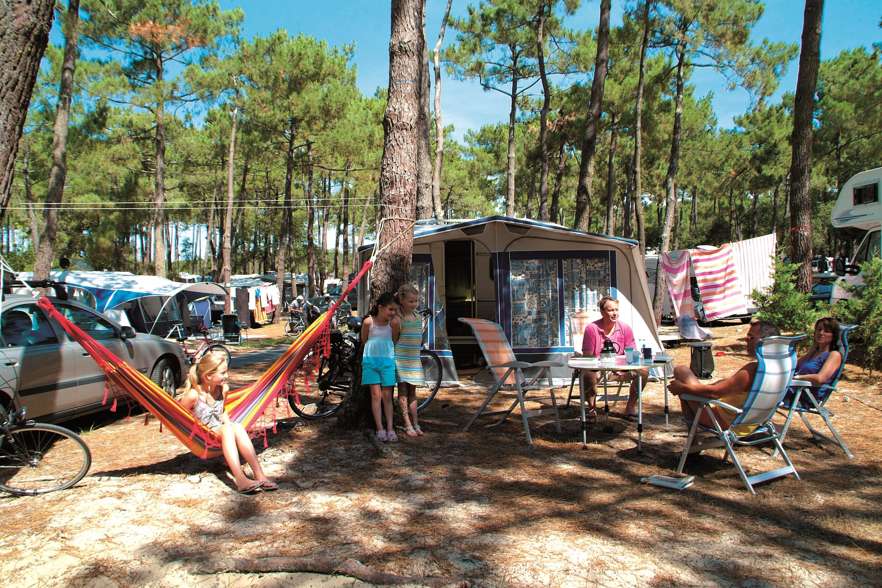 Camping de la Côte d'Argent, Hourtin-Plage, Gironde