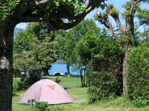 Camping la Chapelle Saint Claude, Talloires, Haute-Savoie