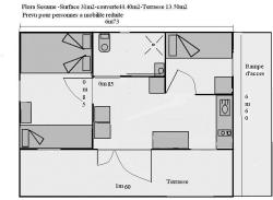 Location - Chalet Sesame 2 Chambres - Camping La Cascade