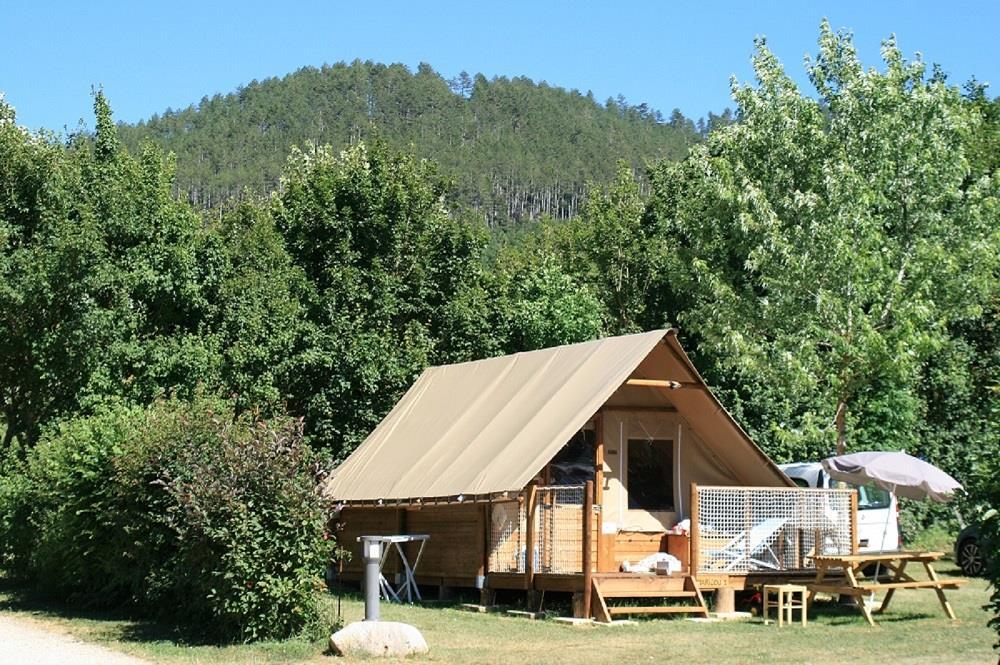 Location - Ecolodge Marilou 1 - Sans Sanitaires, Sans Eau, Sans Chauffage - 20 M2 - - Camping La Cascade