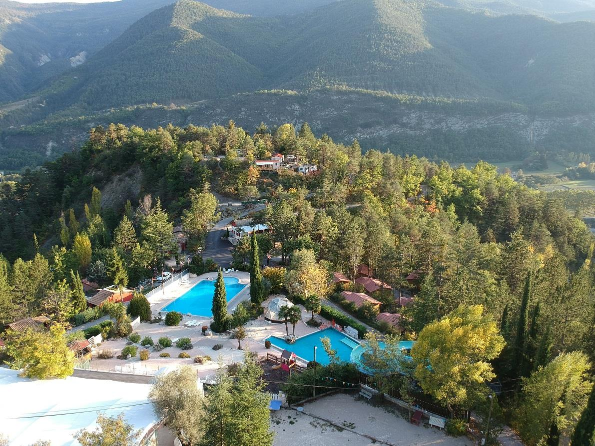 Camping Origan Village, Puget-Théniers, Alpes-Maritimes